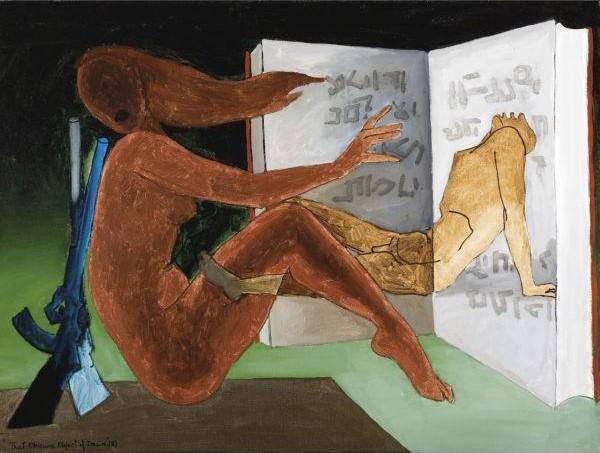 Maqbool Fida Husain-That Obscure Object Of Desire-1980