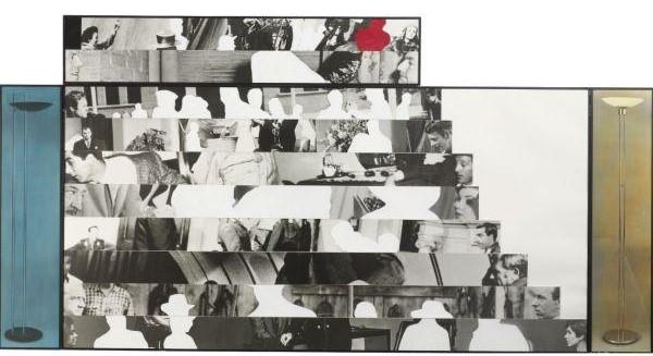 John Baldessari-Stares (With Lamps)-1986