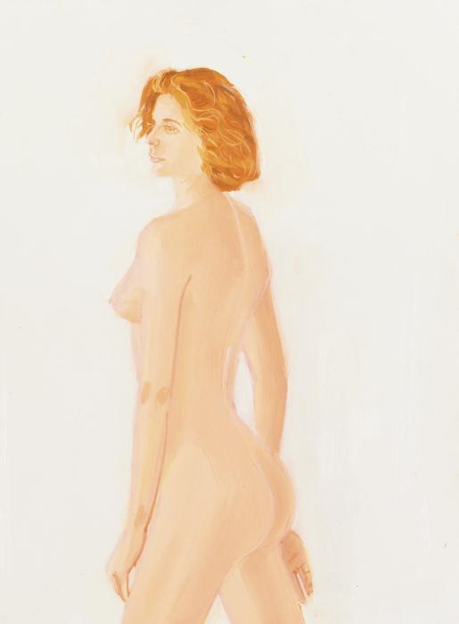 Alex Katz-Study for Connie-1988