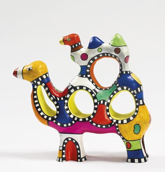 Niki de Saint Phalle-Camels-1998