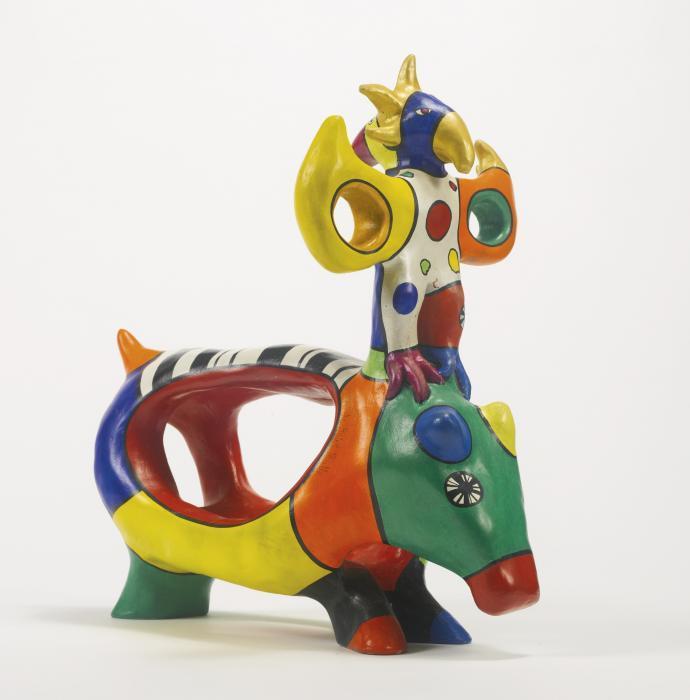 Niki de Saint Phalle-Hippo and Sun God-1998