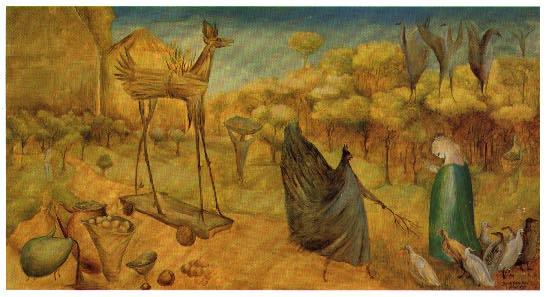 Leonora Carrington-St. John's Mule-1947