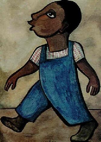 Diego Rivera-Nino silbando-1955