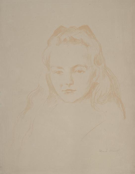 Edvard Munch-Ottilie Schiefler (W. 295)-1907