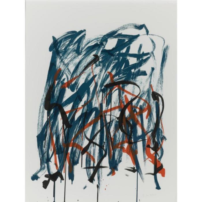 Joan Mitchell-Flower II; Brush-1981