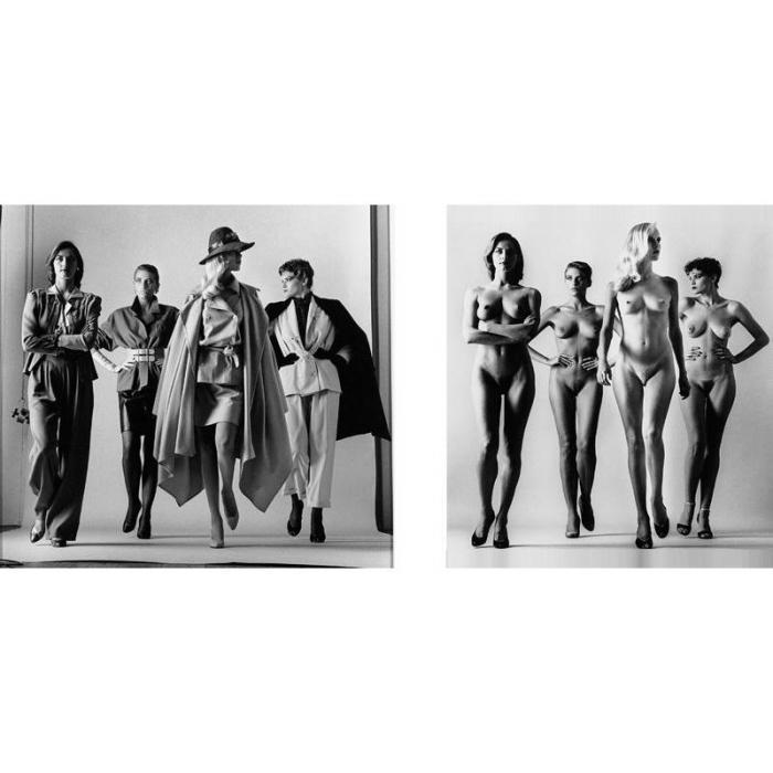 Helmut Newton-Sie kommen, dressed; Sie kommen, naked-1981