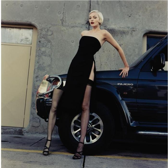 Helmut Newton-Nadja and her spare Leg, Monte-Carlo-1994