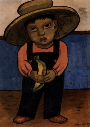Diego Rivera-Nino-1945