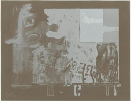 Jasper Johns-Passage II (Ulae 30)-1966