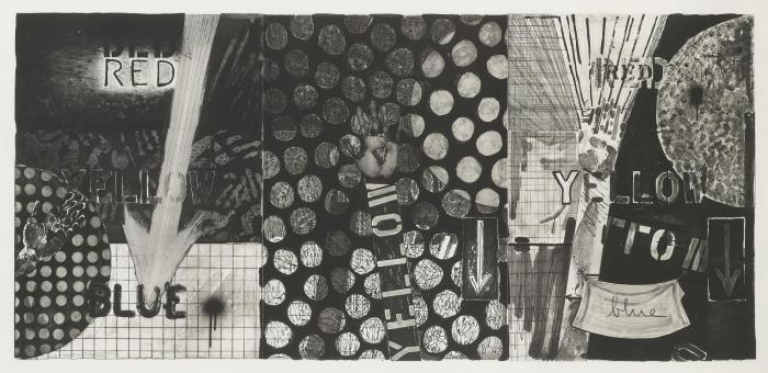 Jasper Johns-Untitled (Ulae 255)-1991