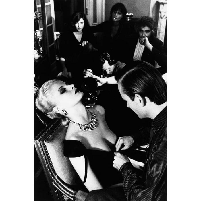 Helmut Newton-Givenchy and Bulgari, French Vogue, Paris-1981