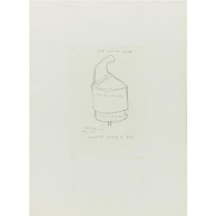 Marcel Duchamp-The Chess Player-1966