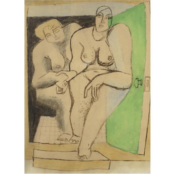 Le Corbusier-Deux femmes-
