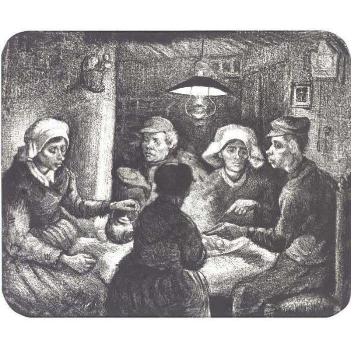 Vincent van Gogh-The Potatoe Eaters-1885