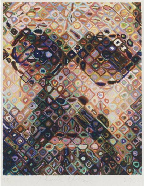 Chuck Close-Self-Portrait-2002