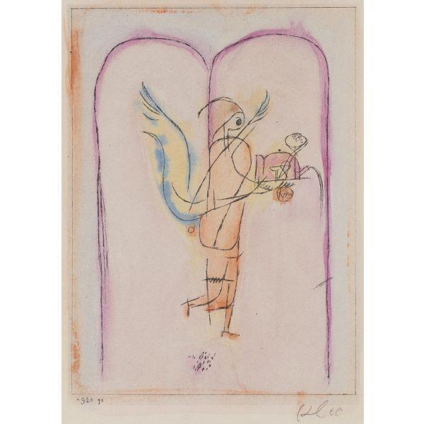 Paul Klee-Ein Genius Serviert ein Kleins Fruhstuck-1920