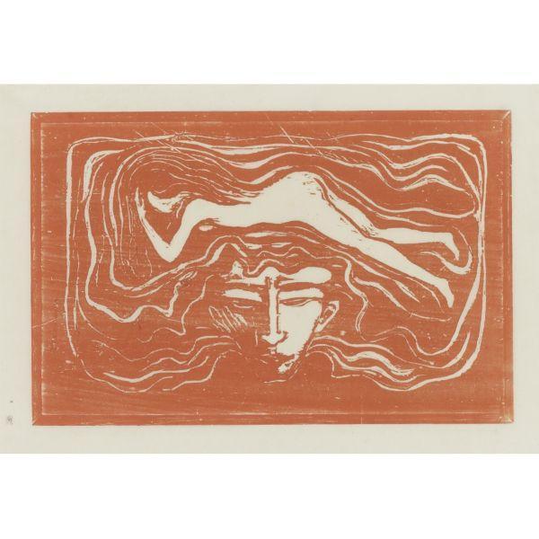 Edvard Munch-In the Man's Brain (W. 110; Sch. 98)-1897