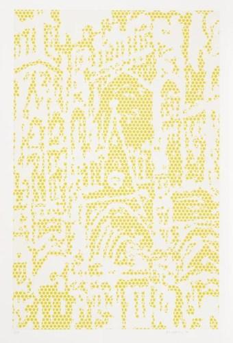 Roy Lichtenstein-Cathedral #1, from Cathedrals-1969