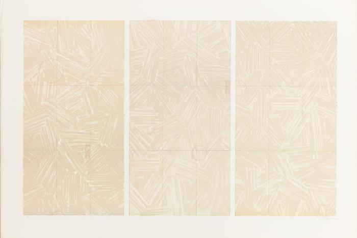 Jasper Johns-Usuyuki (Ulae 202)-1979