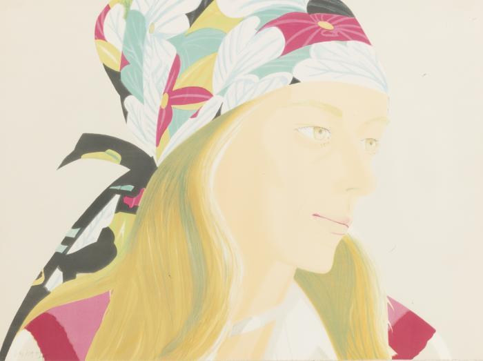 Alex Katz-Anne (Maravell 66)-1973