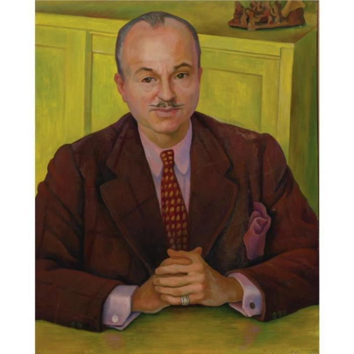 Diego Rivera-Portrait of Charles B.Bolles-Rogers-1942