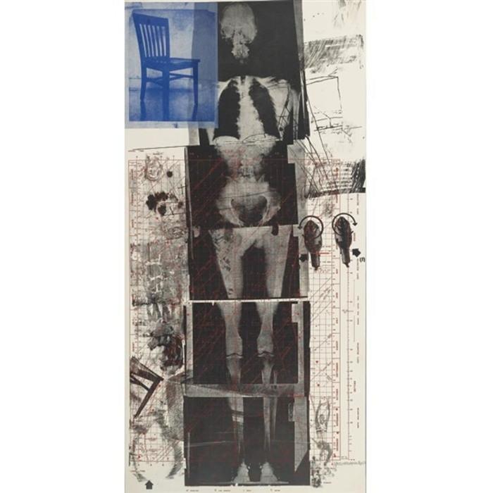 Robert Rauschenberg-Robert Rauschenberg - Booster (From Booster And Seven Studies)-1967