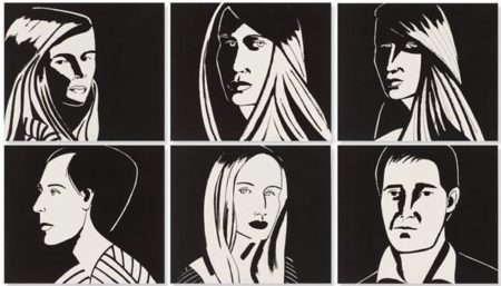 Alex Katz-Six Aquatints / Untitled-2013