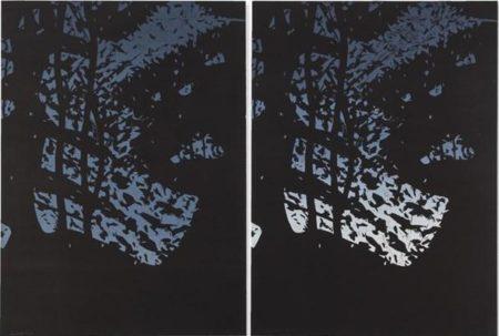 Alex Katz-Twilight 1; Twilight 2 (Schroder 450; 451)-2008