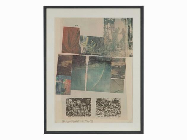 Robert Rauschenberg-Robert Rauschenberg - People Have Enough Trouble Without Being Intimidated By An Artichoke (From Suite of Nine Prints)-1979