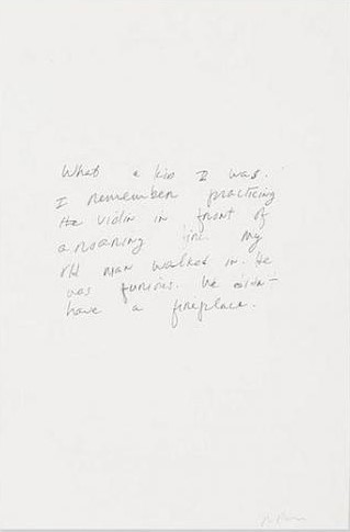 Richard Prince-Untitled (Joke) (What A Kid I Was)-1985