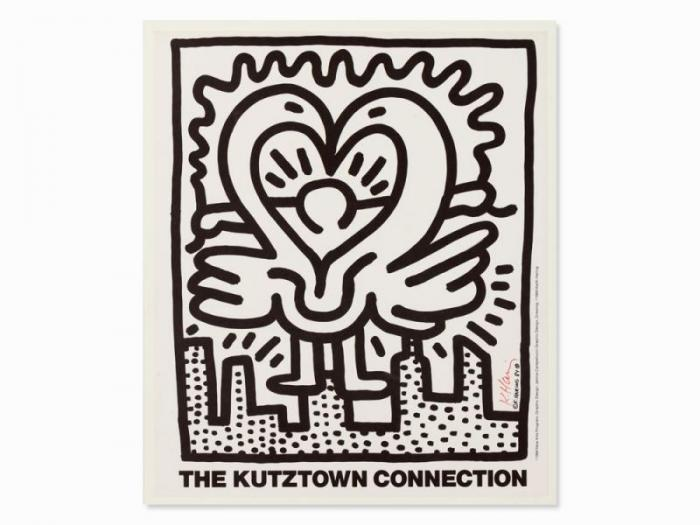 Keith Haring-Keith Haring - The Kutztown Connection-1984