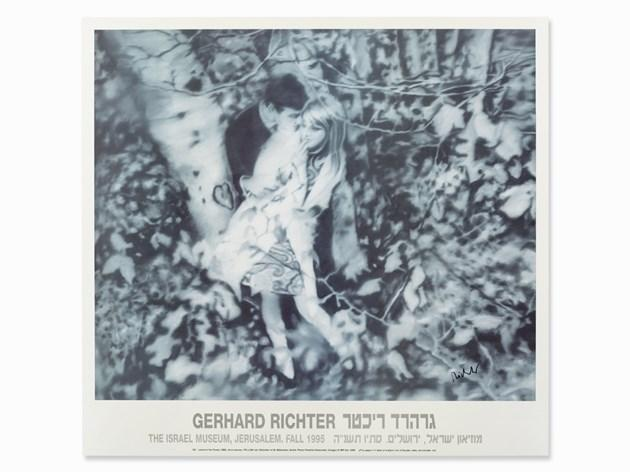 Gerhard Richter-Lovers in the Forest-1995