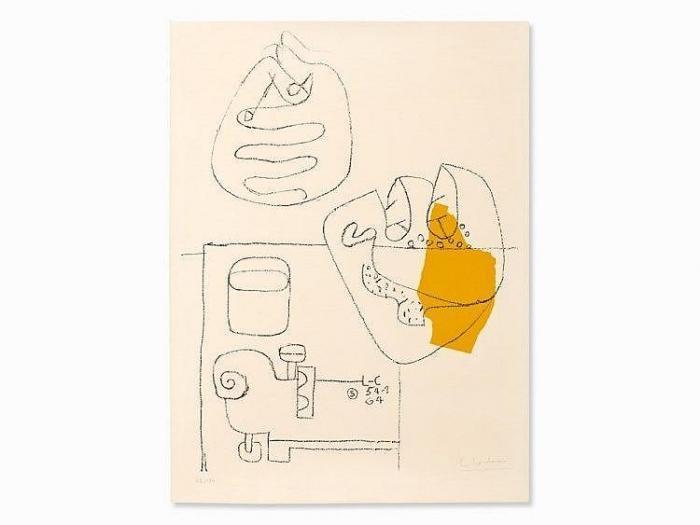 Le Corbusier-Mains Croisees-1964
