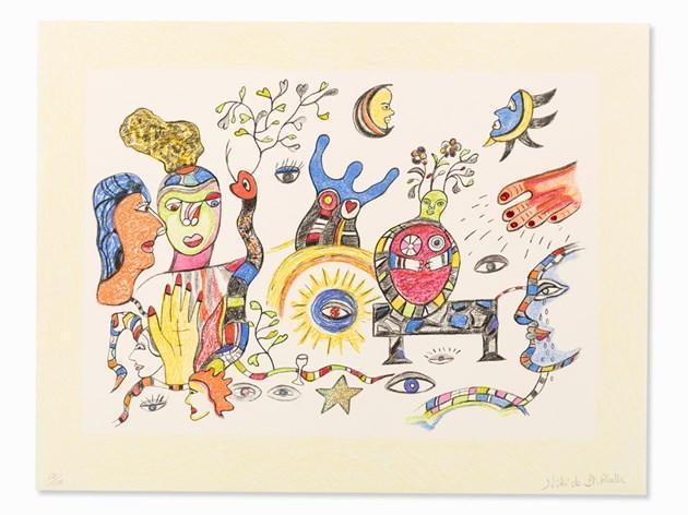 Niki de Saint Phalle-Buddha-1999