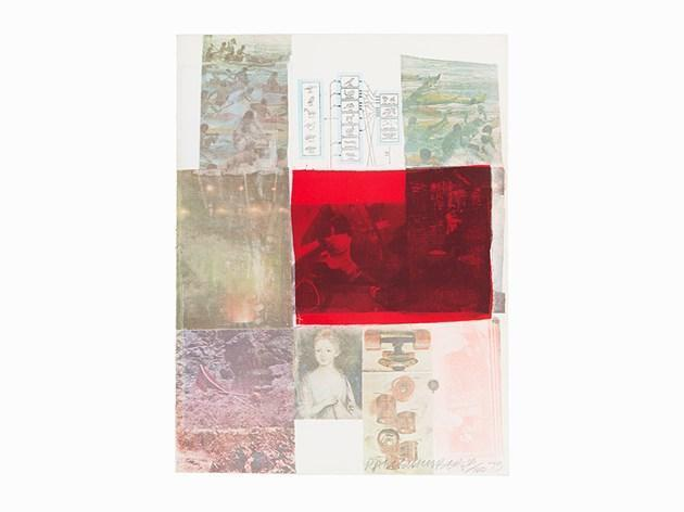 Robert Rauschenberg-Robert Rauschenberg - From the Seat of Authority (From: The Suite of Nine Prints)-1979