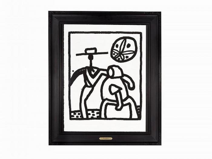Keith Haring-Keith Haring - Untitled (Kutztown)-1989