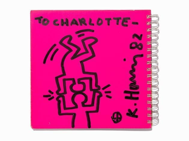 Keith Haring-Keith Haring - Untitled (Two Figures Balancing)-1982