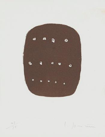Lucio Fontana-Composition-