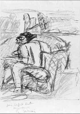 Le Corbusier-Figure study-