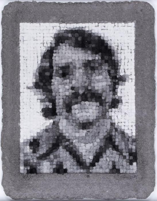Chuck Close-Robert, Manipulated (Butler Institute 30)-1982
