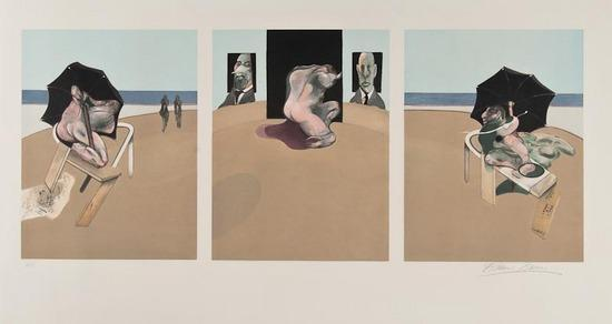 Francis Bacon-D'apres Triptych 1974-1977-1977