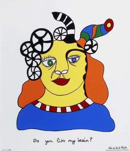 Niki de Saint Phalle-Do you like my Brain-1999