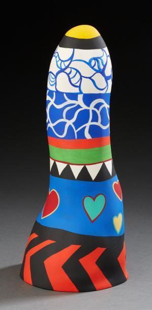 Niki de Saint Phalle-Obelisque coeurs-1987
