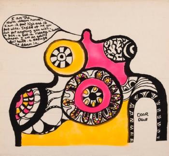 Niki de Saint Phalle-Door Deur-1968