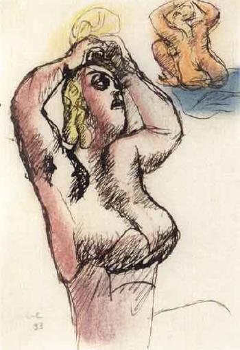Le Corbusier-Modellstudier-1933