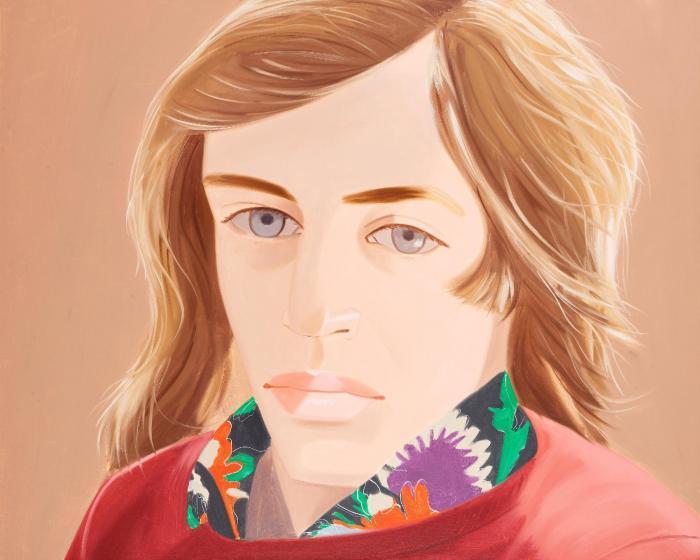 Alex Katz-Larry No I-1974