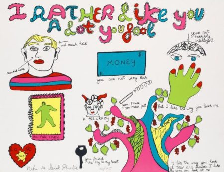 Niki de Saint Phalle-I like you rather a lot you fool-1970
