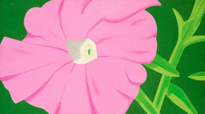 Alex Katz-Pink Petunia 2-1968