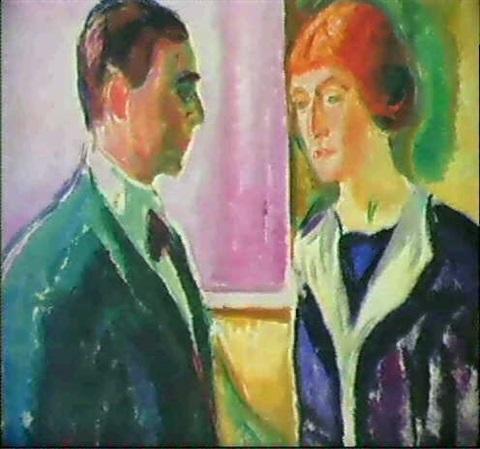 Edvard Munch-Avsked (The Farewell)-1912