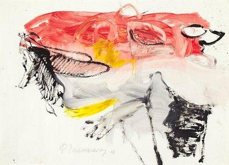 Robert Rauschenberg-Robert Rauschenberg - Untitled-1980